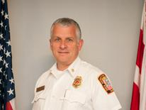 David Foust, Assistant Fire Chief of Services
